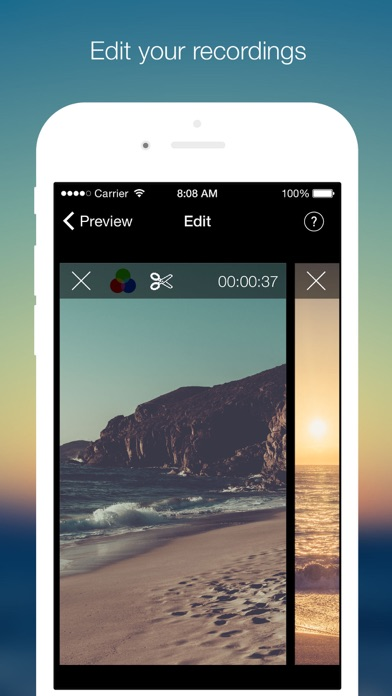 download VideoCam+ Pause, Edit, Filters apps 0