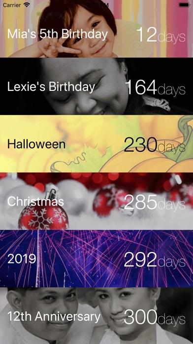 DaysLeft Screenshots