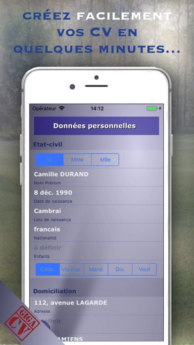 download giga-cv Votre CV sur mesure apps 4