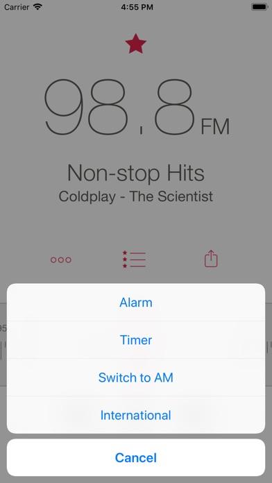 Radio - A Simple Radio App Screenshots