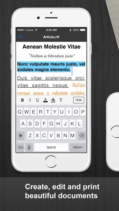 Documenti Pro Screenshots