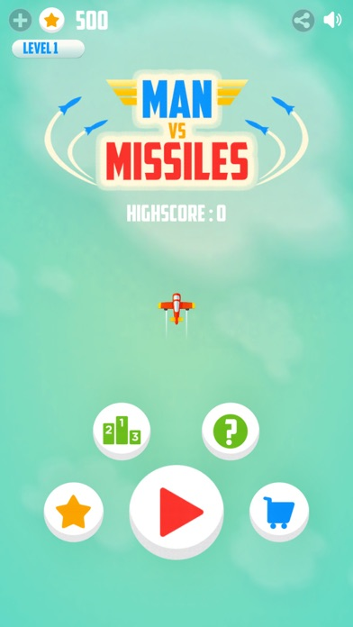 Man Vs. Missiles for iOS/Android - Get that Missile off your back Image