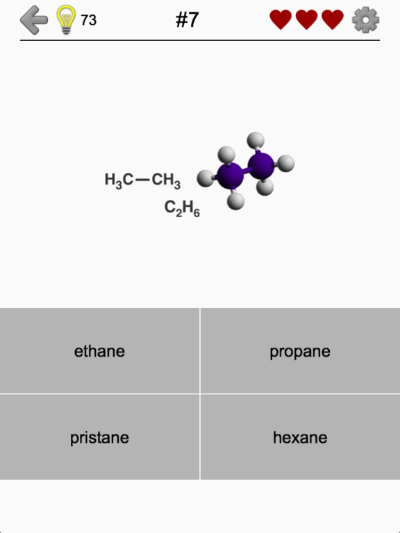 Hydrocarbons Chemical Formulas Screenshots