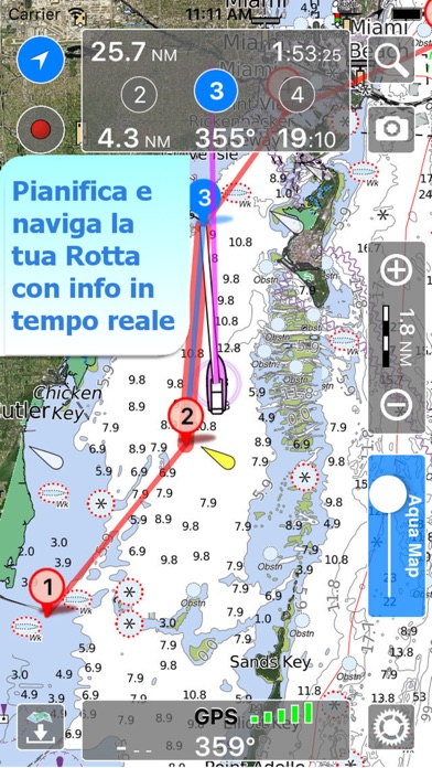 Screenshot of Aqua Map Marine - Boating GPS1