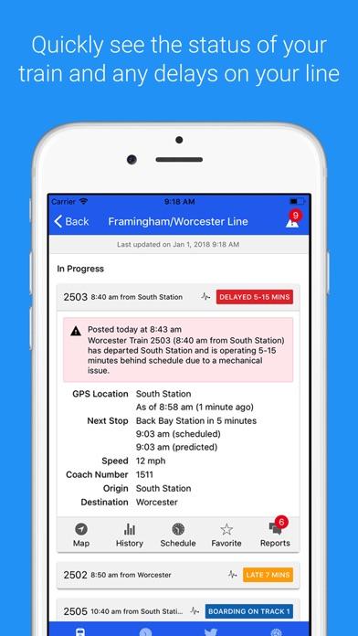 download MBTA Commuter Rail Tracker apps 1