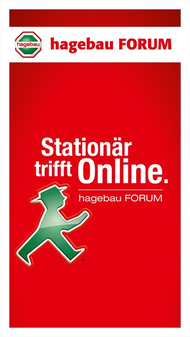 Screenshot von hagebau Forum1