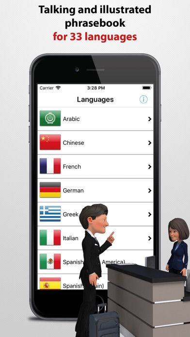 Travel Interpreter Phrasebook review screenshots