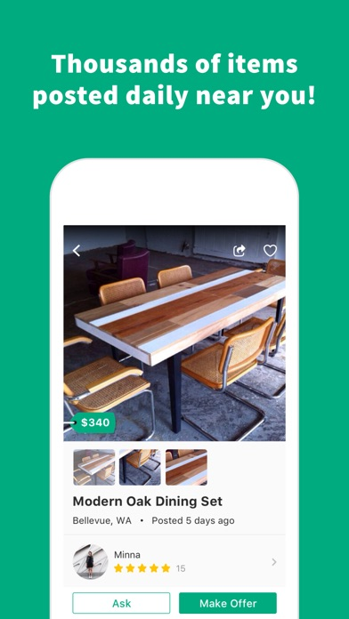 download OfferUp - Buy. Sell. Simple. apps 3