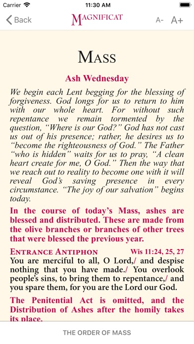 Magnificat Lent Companion 2018 screenshot 3