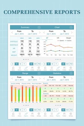 Blood Pressure Companion Pro screenshot 2