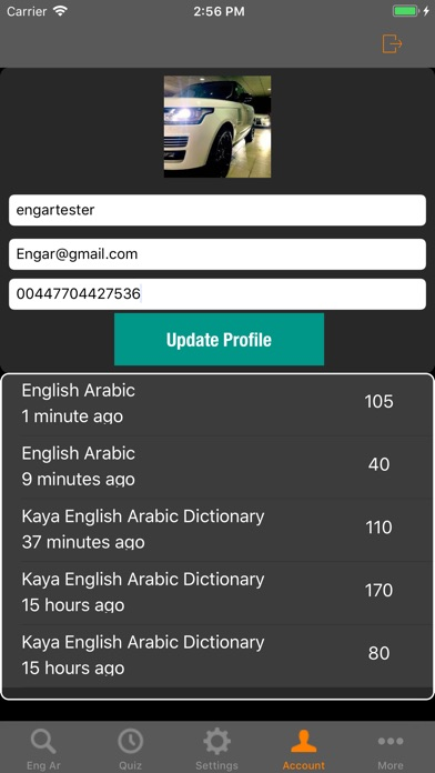 Kaya English Arabic Dictionaryلقطة شاشة5