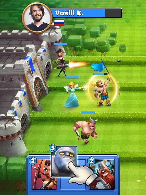 Castle Crush: карточные игры на iPad