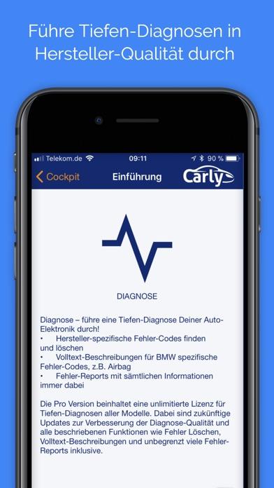 Carly für BMW Lite Screenshot
