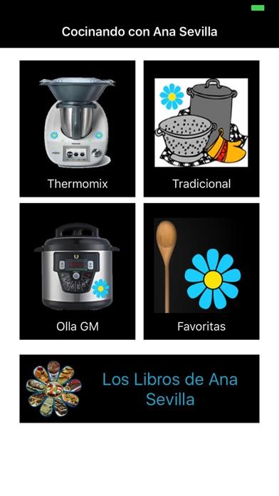 cocinando con ana sevilla en el app store
