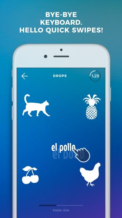 Screenshot of Drops: impara lingua spagnolo2