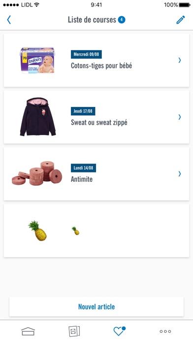 lidl offres et catalogues dans l app store. Black Bedroom Furniture Sets. Home Design Ideas