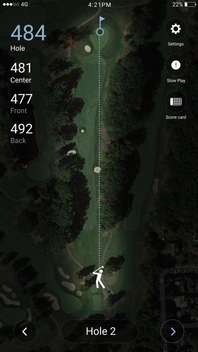 Screenshot of Outpost Club App