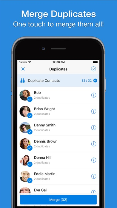 Screenshot #10 for Simpler - Contacts Manager