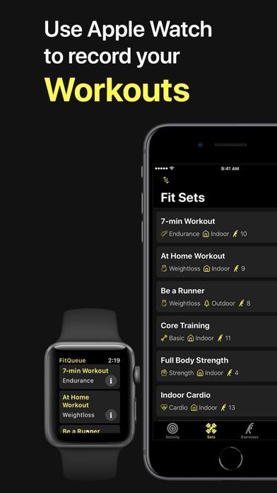 download FitQueue apps 3
