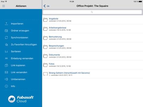 Fabasoft Cloud screenshot 1