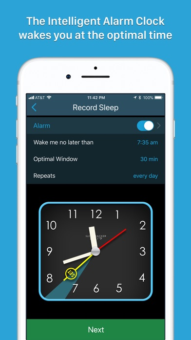 Sleeptracker® 24/7 screenshot1
