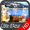 Côte d'Azur GPS HD cartes nautiques et navigation