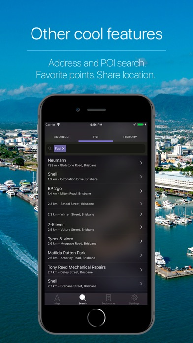 Screenshot for Queensland Offline Navigation in United Kingdom App Store