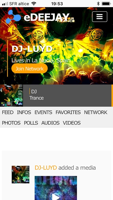 eDeejay Premium Screenshots