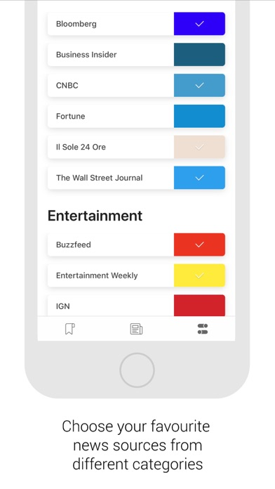 Screenshot of Briefeed2