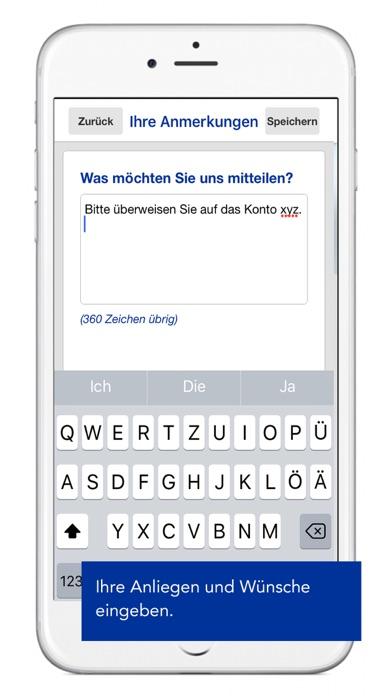 SIGNAL IDUNA RechnungsApp Screenshot on iOS