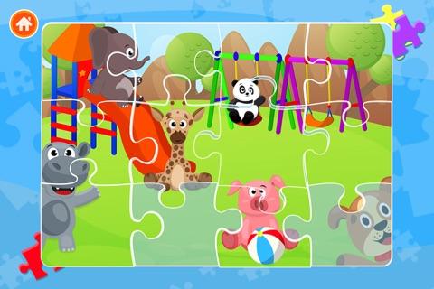 Cute Panda Jigsaw Puzzles For Kids & Toddlers screenshot 4
