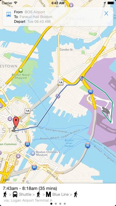 Transit Tracker Boston on the App Store