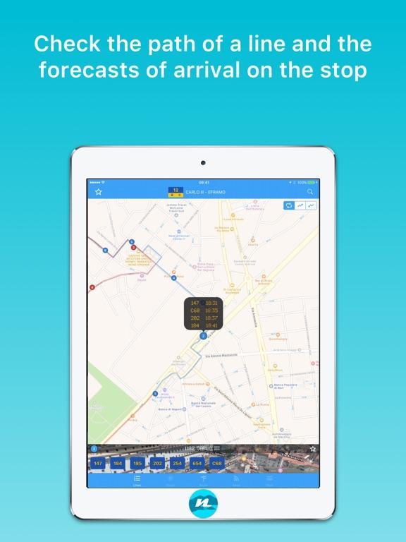 app shopper gira napoli public transport navigation. Black Bedroom Furniture Sets. Home Design Ideas