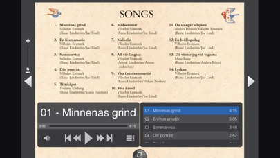 Screenshot for SWEDISH FOLK SONGS LINDSTROM in United Kingdom App Store