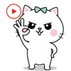 Chummy Cat Animated Stickers