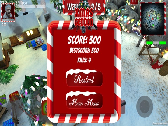 Screenshot 3 Xmasgeddon