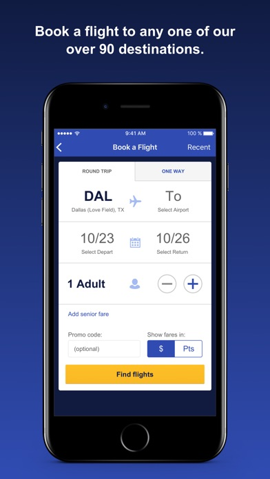 download Southwest Airlines apps 4