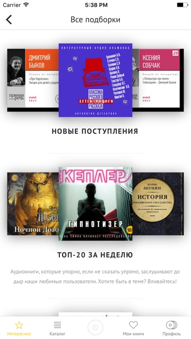 Аудиокниги хиты: детективы Скриншоты4
