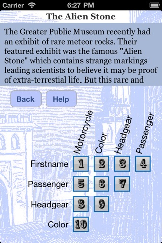 iDetectiveLt Logic Puzzles screenshot 1