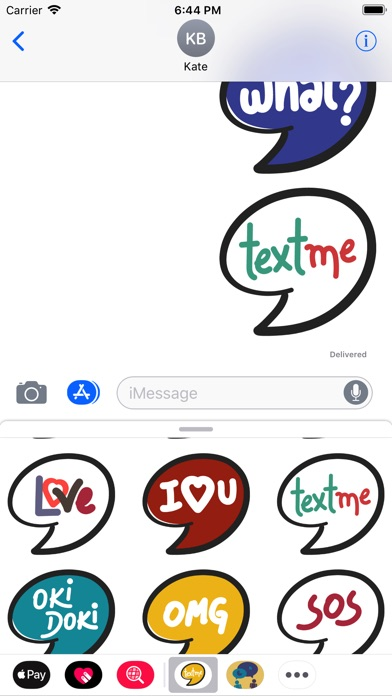 download TextMe Stickers apps 0