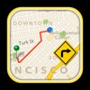 GPS автомобильный маршрут