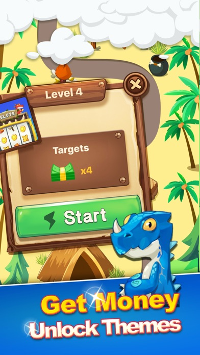 Screenshots of Coins Game - Win Reward in the Stone Age for iPhone