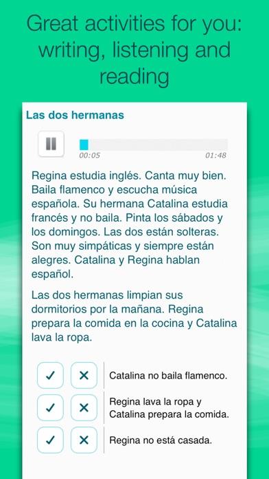 Learn Spanish with Wlingua iPhone