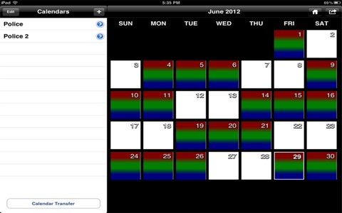 Police Schedule screenshot 2