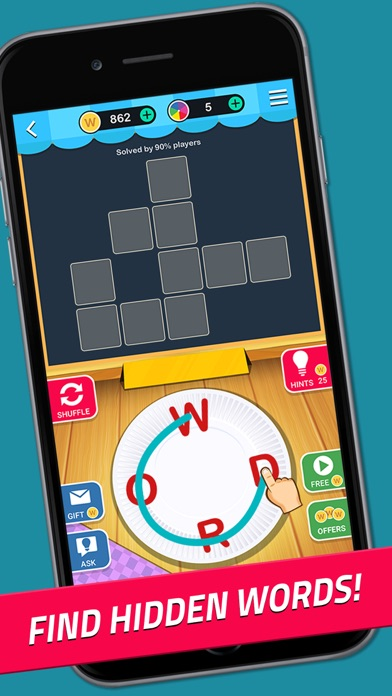 Crossword Jam: Fun Brain Game screenshot 1