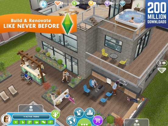 Screenshot #1 for The Sims™ FreePlay