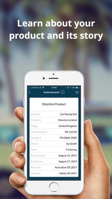 Otentico Screenshot on iOS