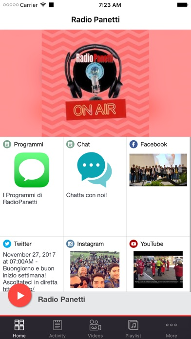 Radio Panetti screenshot 1