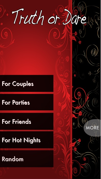 Screenshots of TRUTH or DARE - Hot Party Game (Sex Edition) for iPhone