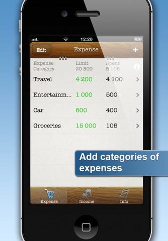 Easy Family Budget Planner screenshot 1